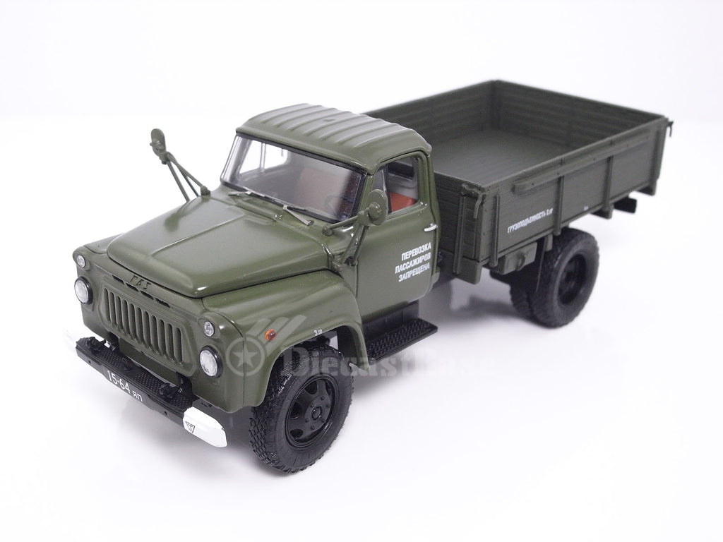 DiP Models 105202 1/43 GAZ-52 truck 1983 with load platform Diecast Model Road Car