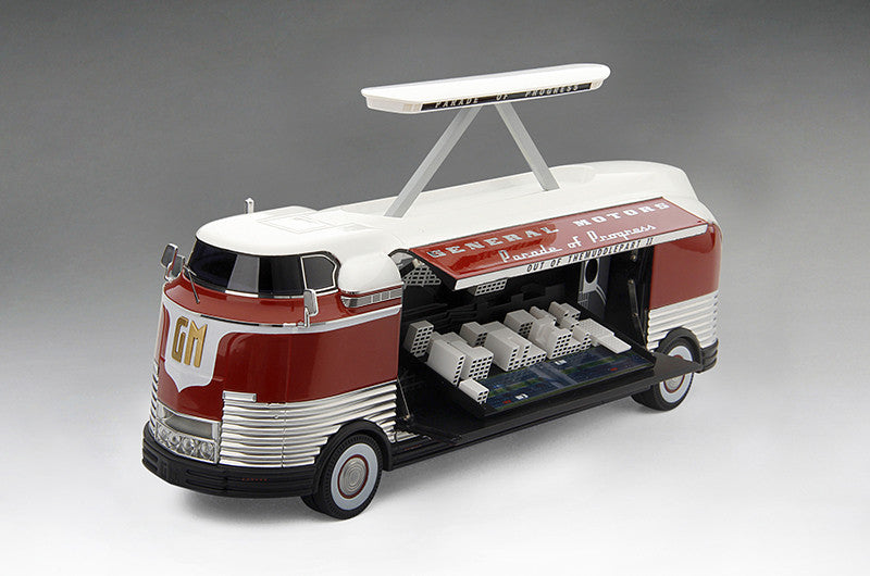 "TSM TSM154328 1/43 GM Futurliner 1954 ""Out of the Muddle"" TrueScale Miniatures Resin Model Road Car"