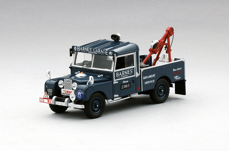 "TSM TSM154358 1/43 Land Rover Series I 107"" Recovery Truck ""Barnes Garage"" TrueScale Miniatures Resin Emergency Model Road Car"