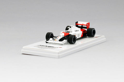TSM TSM144334 1/43 McLaren MP4/6 #1 2nd Japanese Grand Prix 1991 McLaren-Honda Team - Ayrton Senna TrueScale Miniatures Resin Model Formula F1 GP Racing Car