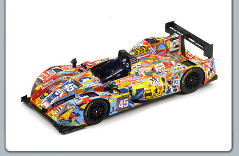 Spark 18S096 1/18 Morgan-Nissan No.45 OAK Racing Team Le Mans LMP2 2013 Spark Models Resin Model LM Racing Car