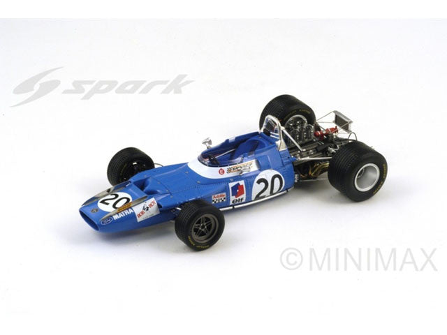 1/18 Matra MS80 Spark 18S114  ~ top view ~ taken by DiecastBase