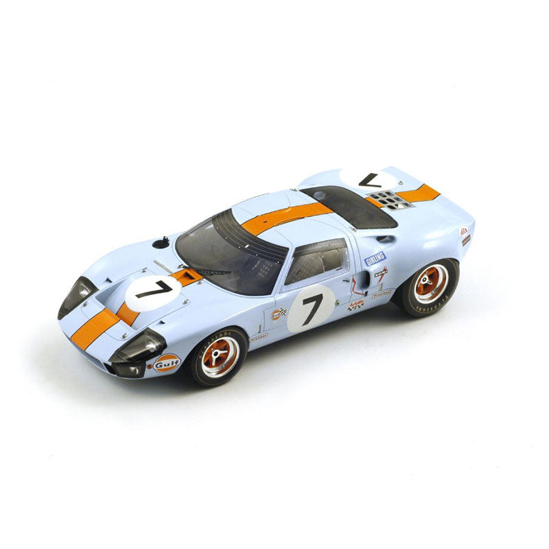 1/18 Ford GT40 Mk I Spark 18S128  ~ top view ~ taken by DiecastBase