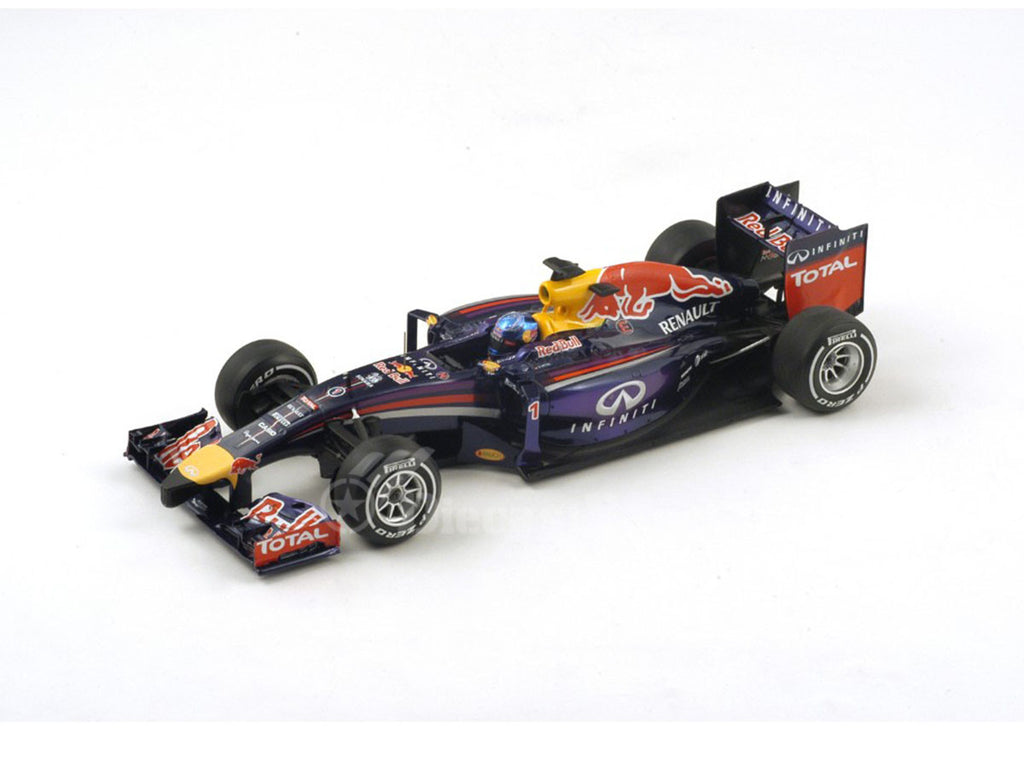 1/18 Red Bull RB10 Spark 18S135  ~ top view ~ taken by DiecastBase