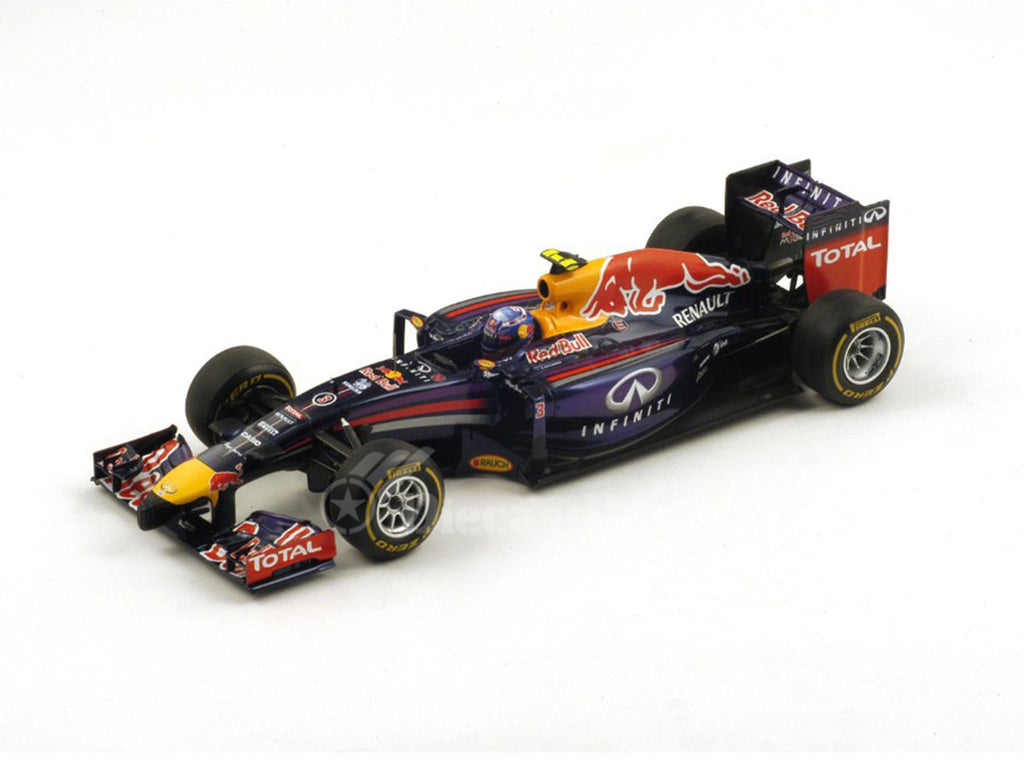 1/18 Red Bull RB10 Spark 18S136  ~ top view ~ taken by DiecastBase