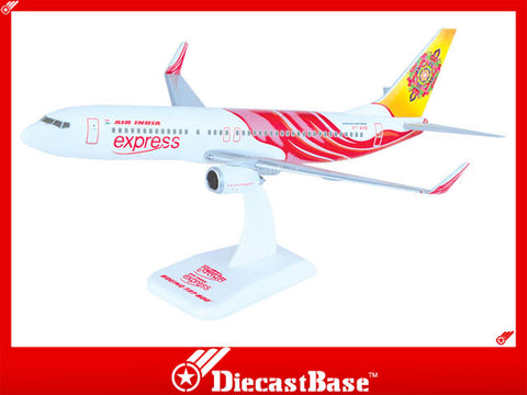 Hogan Wings 3800G-B 1/200 Air India Express IX AXB BOEING 737-800 Plastic Snap-Fit Model Commercial Aircraft Civil Aviation