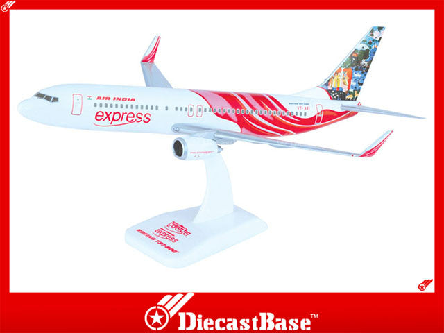 Hogan Wings 3800G-I 1/200 Air India Express IX AXB BOEING 737-800 Plastic Snap-Fit Model Commercial Aircraft Civil Aviation