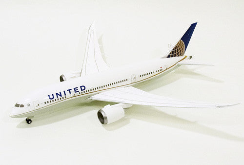 Hogan Wings 4074 1/200 United Airlines UA UAL BOEING 787-8 Plastic Snap-Fit Model Commercial Aircraft Civil Aviation