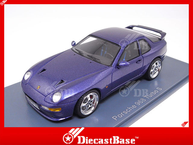 Neo 43835 1 43 Porsche 968 Turbo Rs Metallic Lilac Purple Resin Model