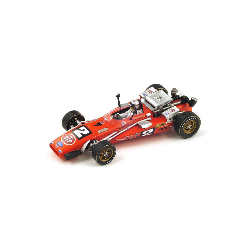 1/43 Brawner Hawk Spark 43IN69 Model Racing Car