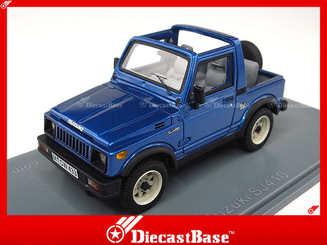 NEO 44033 1/43 Suzuki SJ 410 Blue 1985 Resin Model Japanese Road Car NEO scale models