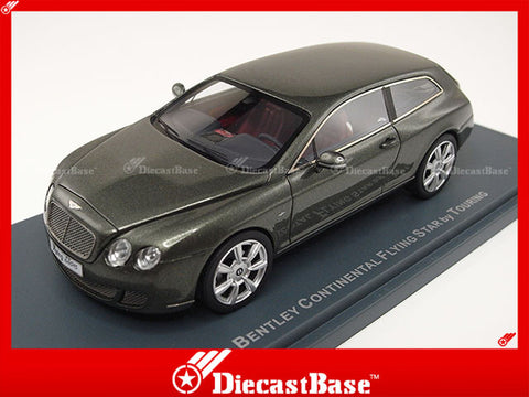 NEO 44216 1/43 Bentley Continental Flying Star by Touring 2010 Green Resin Model Road Car NEO scale models
