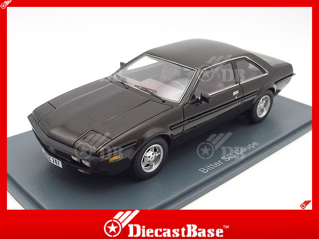 NEO 44267 1/43 Bitter SC Coupe Metallic Dark Brown Resin Model Road Car NEO scale models