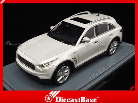 NEO 44541 1/43 Infiniti FX50S White 2010 Resin Model Japanese Road Car NEO scale models