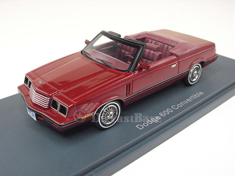 NEO 44995 1/43 Dodge 600 Convertible Resin Model Road Car NEO scale models