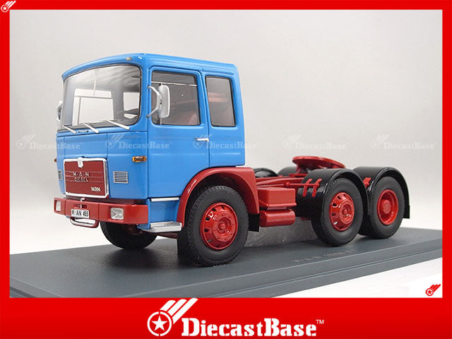 NEO 45455 1/43 MAN F7 Tractor Blue Resin Model Truck Road Car NEO scale models