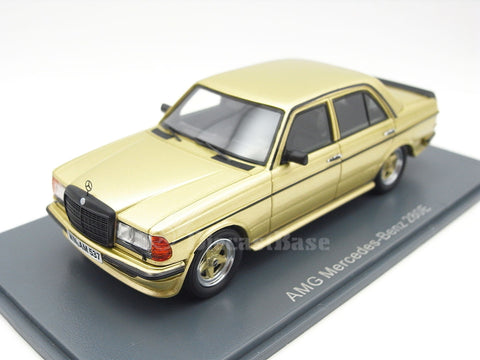 NEO 45537 1/43 Mercedes-Benz AMG 280 E (W123) gold Resin Model Road Car NEO scale models