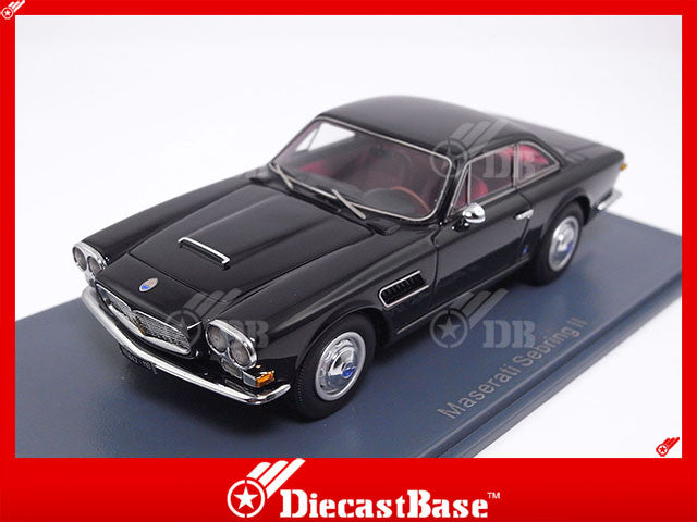 NEO 45642 1/43 Maserati Sebring Serie II black schwarz Resin Model Road Car NEO scale models