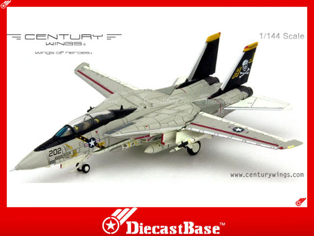 Century Wings 589711 1/144 F-14A Tomcat US Navy VF-84 Jolly Rogers AJ202 1978 1:144 CW Diecast Military Model Aircraft