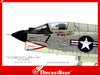 Century Wings 601482 1/72 F-8E Crusader US Marine Corps VMF(AW)-333 FIGHTING SHAMROCKS DN7 1967 1:72 CW Diecast Model Military Aircraft