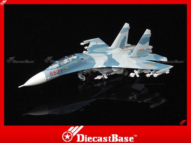 Hogan Wings Model 6023 1/200 SU-27UB Vietnamese People's Air Force 370th Air Division Phan Rang Air Base 1:200 M-Series Diecast Military Aircraft Model