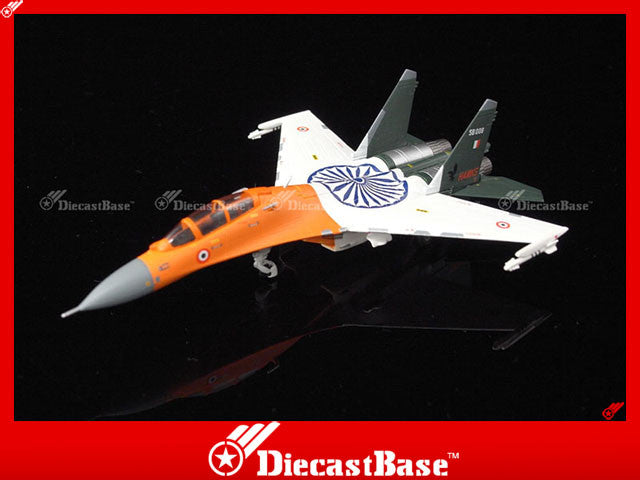 Hogan Wings Model 6054 1/200 SU-30MK-I.IAF 24th Aquadron Hunting Hawks.SB008.Naional Republic Day Trricolor scheme 1:200 M-Series Diecast Military Aircraft Model