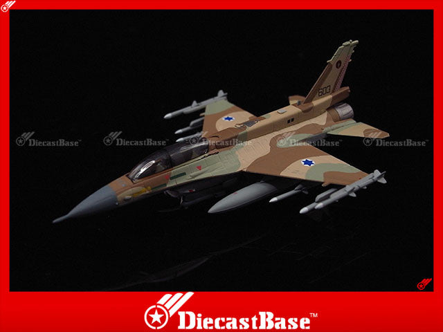 Hogan Wings Model 6061 1/200 F-16D Israeli Air Force 101st Squadron (Tayest Squadron) Hatzor Air Base 1:200 M-Series Diecast Military Aircraft Model