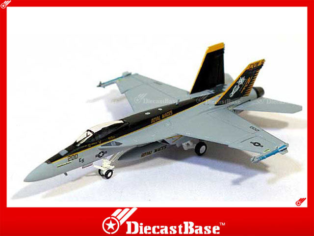 Hogan Wings Model 6078 1/200 F/A-18E US Navy VFA-27 Royal Maces CVW-5 Navel Air Facility Atsugi Japan NF 200 1:200 M-Series Diecast Military Aircraft Model