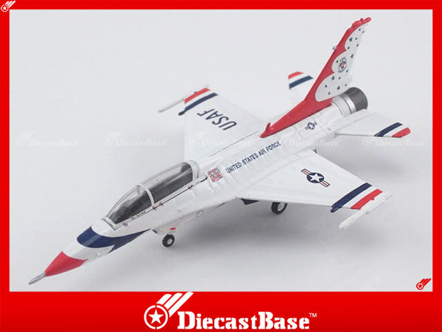 Hogan Wings Model 6092 1/200 F-16D UDAF Thunderbirds Air Demonstration Squadron Reserve Aircraft 1:200 M-Series Diecast Military Aircraft Model
