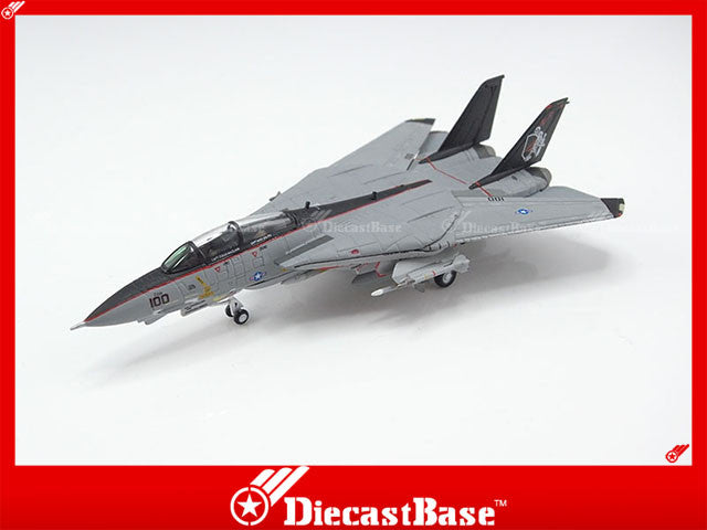 Hogan Wings Model 6597 1/200 F-14A US Navy VF-154 Black Knights CVW-5 CV-62 USS Independence NF 100 1:200 M-Series Diecast Military Aircraft Model