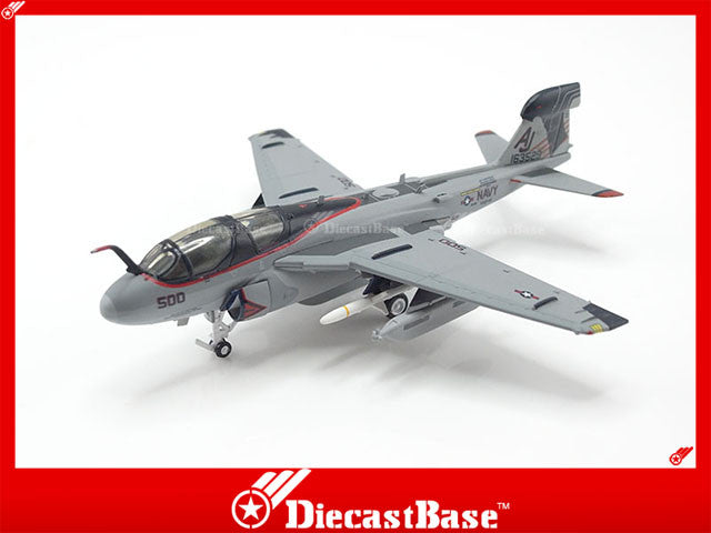 Hogan Wings Model 6733 1/200 EA-6B US Navy VAQ-141 Shadowhawks AJ 500 1:200 M-Series Diecast Military Aircraft Model