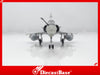 Hogan Wings Model 6801 1/200 Mirage 2000-5 EC2/2 C?te d'Or 50 ans BA 102 Dijon 1:200 M-Series Diecast Military Aircraft Model