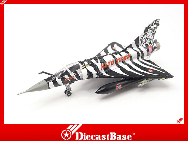 Hogan Wings Model 7266 1/200 Mirage 2000C 12-YM EC 1/12 Cambresis French Air Force Tiger Meet 2006 1:200 M-Series Diecast Military Aircraft Model