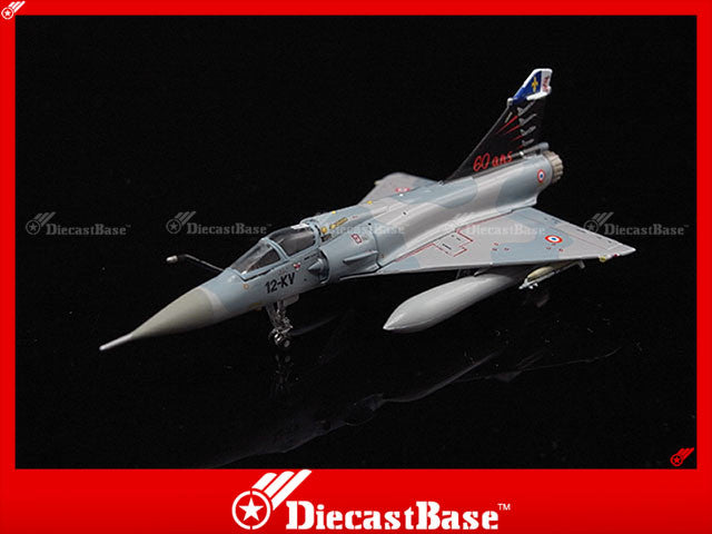 Hogan Wings Model 7440 1/200 Mirage 2000C French Air Force EC 2/12 BA 103 Cambrai AFB 12-KV 2003 Picardie 60 years Livery 1:200 M-Series Diecast Military Aircraft Model