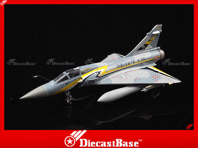 Hogan Wings 7464 1/200 M-Series Mirage 2000-5 EC 2/2 Cote d'Or 50 ans BA 102 Dijon 2000 Jet Diecast Military Aircraft Model