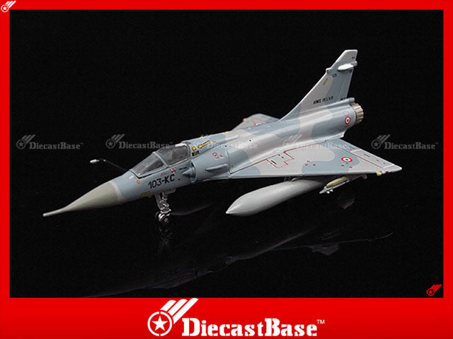 Hogan Wings Model 7488 1/200 Mirage 2000C French Air Force EC 1/12 BA 103 Cambrai AFB 103-KC 1:200 M-Series Diecast Military Aircraft Model