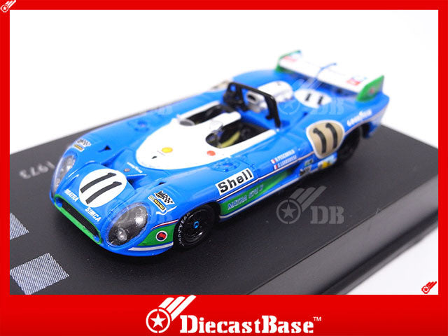 Spark 87LM73 1/87 Matra-Simca MS670B No.11 Winner 24 Hours of Le Mans 1973 HO Scale Diecast Model LM Racing Car