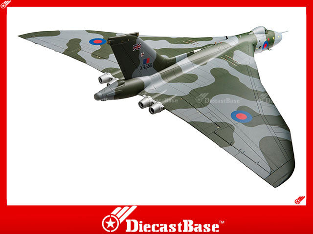 Corgi AA27201 1/72 Avro Vulcan B2 XH558 'Vulcan to the Sky' Return to Flight October 2007 Diecast Military Aircraft Model