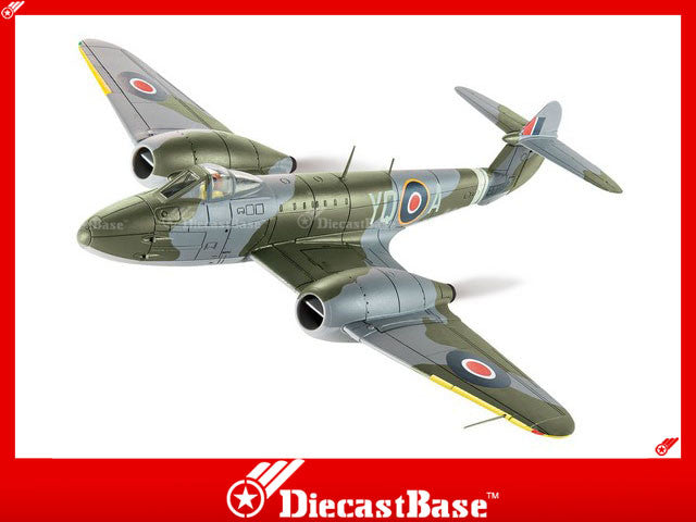 Corgi AA27401 1/72 Gloster Meteor F3 EE246 YQ-A 616 Squadron Lubeck 1945 Diecast Military Aircraft Model