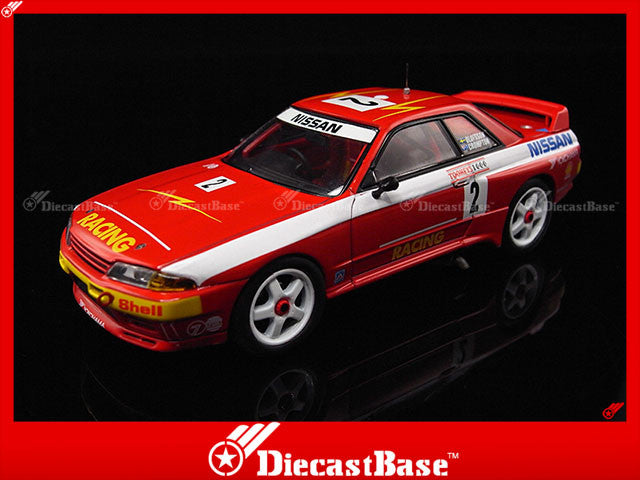 APEX Replicas AR0102 1/43 NISSAN GT-R 3rd Place 1992 Tooheys 1000 - Anders Olofsson - Neil Crompton - Limited edition of 526 pieces world wide 1:43 Diecast Model Racing Car