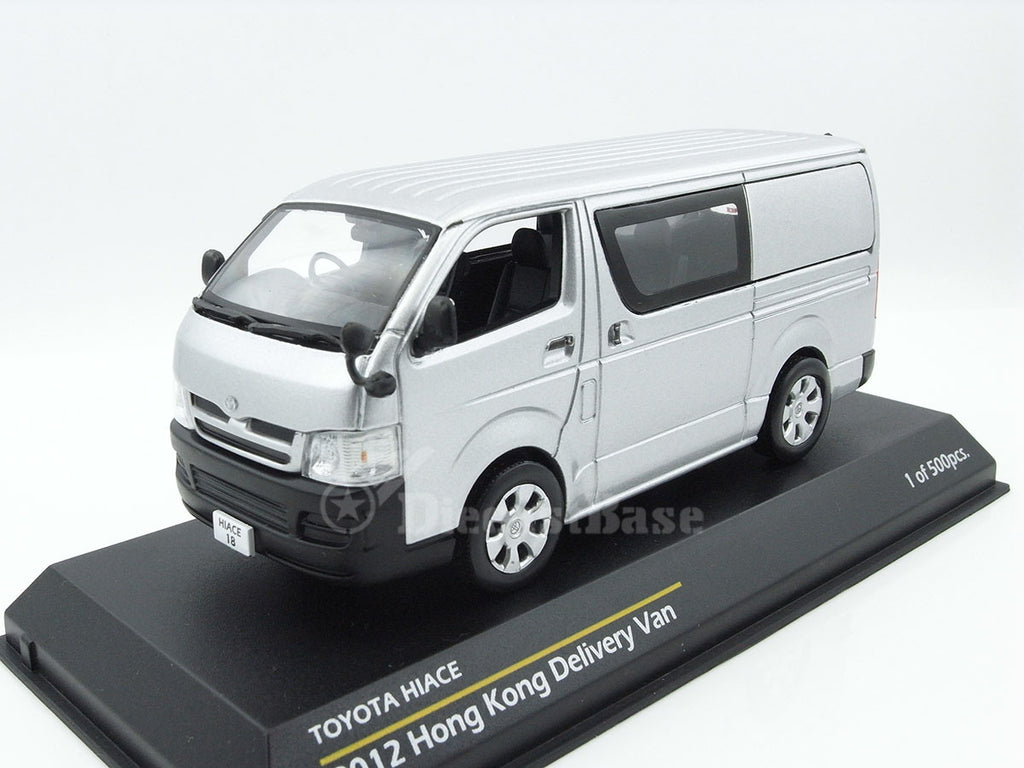 1/43 Toyota Hiace Tiny ATC43002  ~ top view ~ taken by DiecastBase