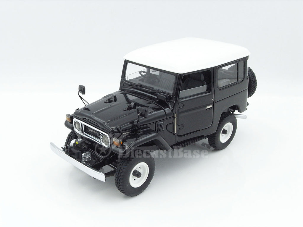 Century Dragon CDTO-1001D 1/43 Toyota Land Cruiser 40 Series Black Resin Japanese Model Car