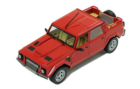 IXO CLC275 1/43 Lamborghini LM 002 Red 1986 Jeep Diecast Model Road Car
