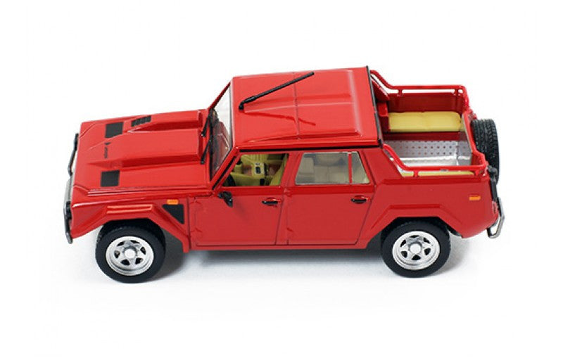 Ixo Clc275 1 43 Lamborghini Lm 002 Red 1986 Jeep Diecast Model Road Ca