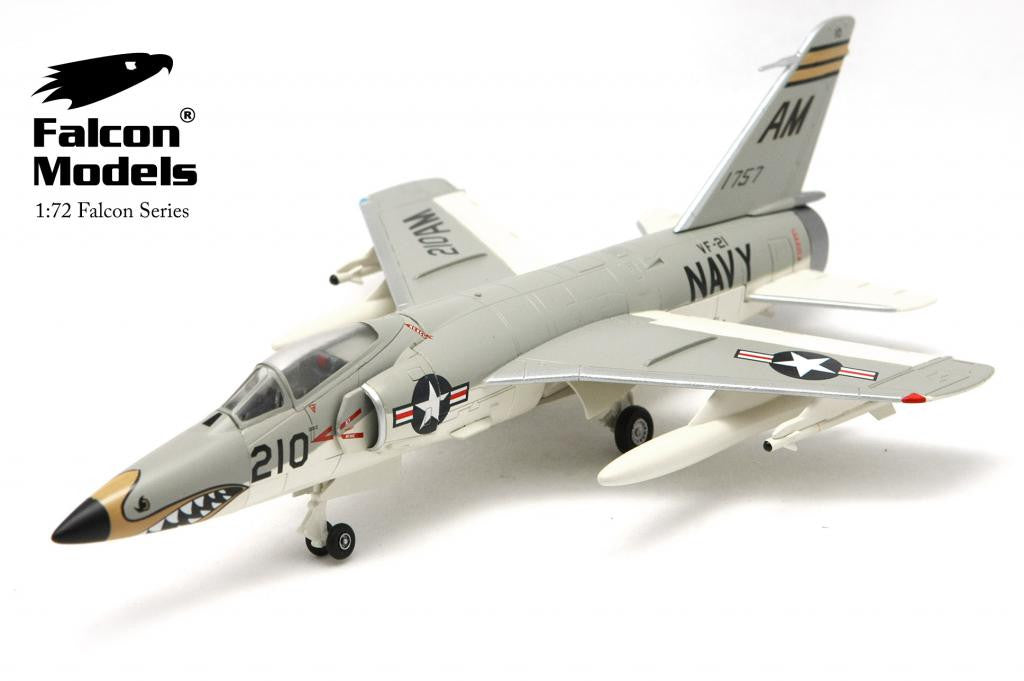 "FA728001 FALCON MODELS F-11F-1 TIGER - VF-21 ""MACH BUSTERS""  US NAVY Diecast Military 1:72"
