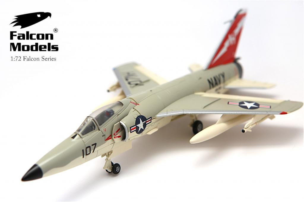 FALCON MODELS FA728004 1/72 Grumman F11F-1 Tiger 141758 US Navy VA-156 1958 Diecast Military