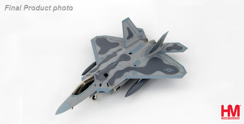 HOBBYMASTER HA2816 1/72 Lockheed F-22 Raptor 05-4098 95th FS August 2015 Military Jet Diecast