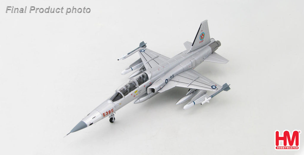 HOBBYMASTER HA3355 1/72 F-5 Northrop F-5F Tiger II 5385 ROCAF Republic of China Air Force Taiwan Military Jet Diecast