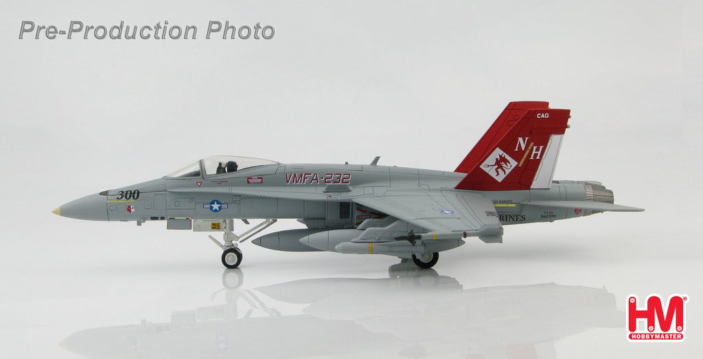 "HOBBYMASTER HA3517 1/72 MD F-18 McDonnell Douglas F/A-18A+ VMFA-232 ""The Red Devils"" March 2007 Military Jet"
