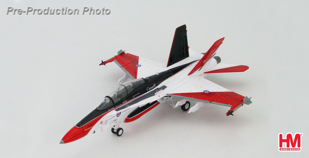 "HOBBYMASTER HA3522 1:72 MD F-18 McDonnell Douglas CF-18b Canadian Armed Forces ""AETE"" Diecast Military Aircraft Jet"